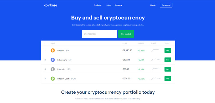 Buy Bitcoin on Coinbase first to buy NEM