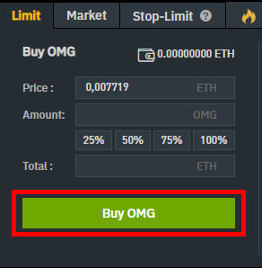 How to Buy NANO on Binance